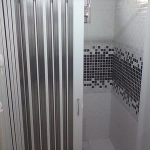 box para banheiro sanfonado